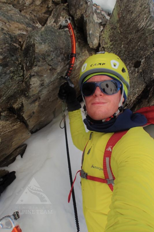 Ben Dare makes solo first ascent of new mixed climb up Mt Percy Smith, New Zealand