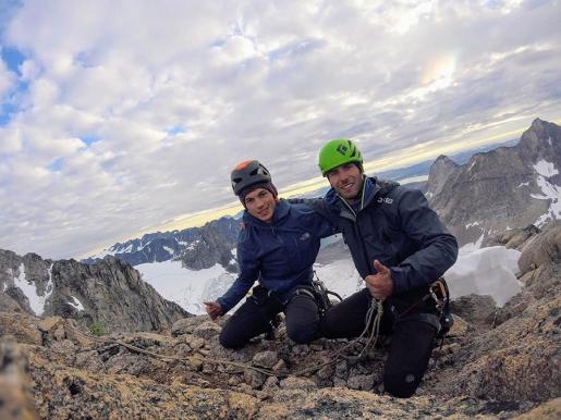 Asta Nunaat in Greenland, Andrea Ghitti and Fabio Olivari climb Gioielli Viventi