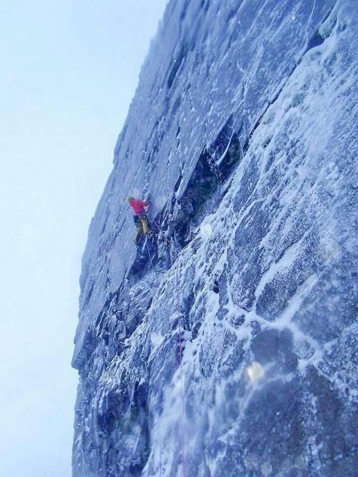 Alpinismo invernale in Scozia: Greg Boswell e Guy Robertson aprono The Forge
