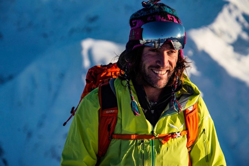 Aldo Valmassoi, solitario sci esplorativo in Dolomiti