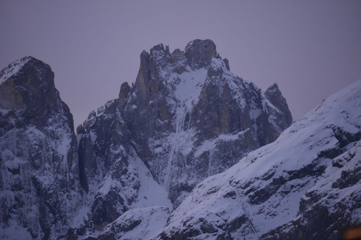 Beauty and the Beast in the Pale di San Martino, Dolomites