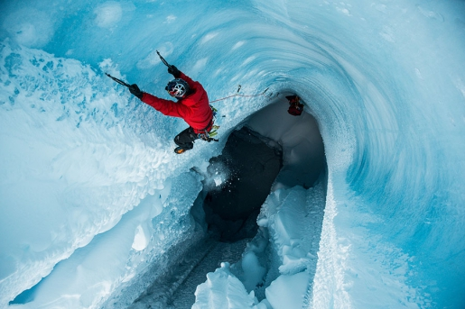 Will Gadd delves beneath Greenland ice