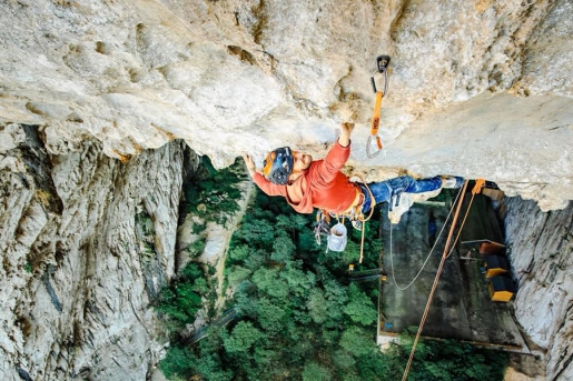 Edu Marin makes first free ascent of Valhalla on Getu Grand Arch in China
