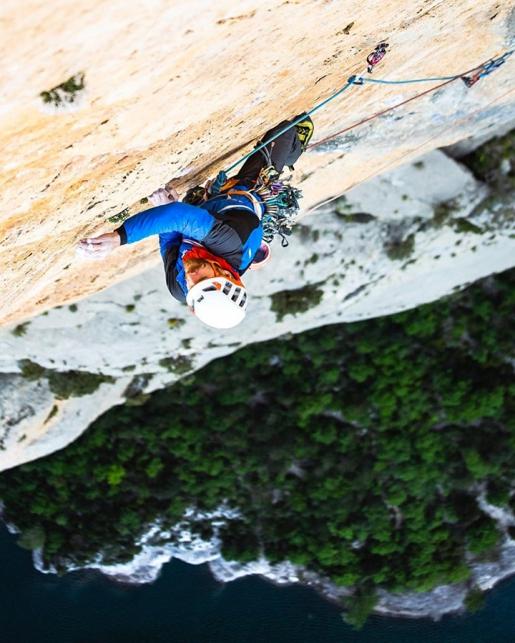 Sense retorn, new climb up Mont-Rebei in Spain in memory of Hansjörg Auer