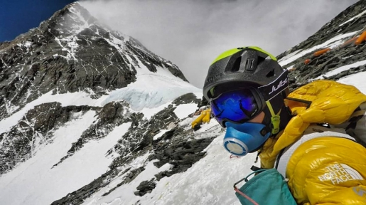 David Göttler e il tentativo dell'Everest senza ossigeno supplementare