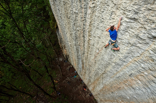 Michi Wohlleben climbs E9 trad and 9a sport