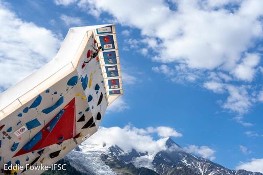 Chamonix Coppa del Mondo Arrampicata Lead 2019 live streaming