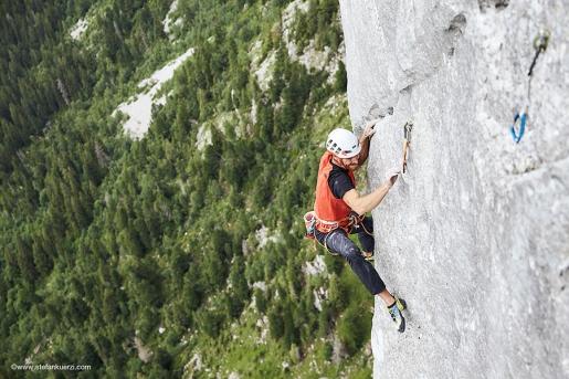 Anche Siebe Vanhee è Yeah Man sul Gastlosen in Svizzera