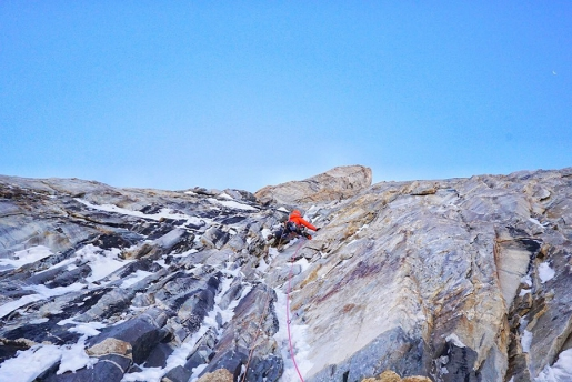 Koyo Zom West Face first ascent by Tom Livingstone and Ally Swinton