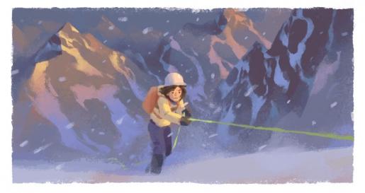 Wanda Rutkiewicz honoured by Google