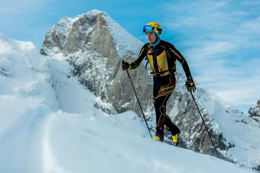 Michele Boscacci e lo scialpinismo in una famiglia di campioni
