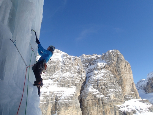 Solo per un altro Hashtag salita per intero in Val Lasties, Dolomiti