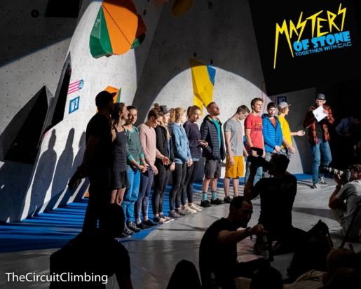Masters of Stone raise 10,000 euros for Climbers against Cancer