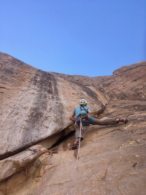 Climbing in Sudan, new routes in Taka mountains above Kassala