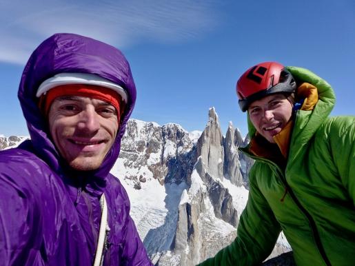 Luka Lindič e Luka Krajnc, nuova via sull'Aguja Saint-Exupéry in Patagonia