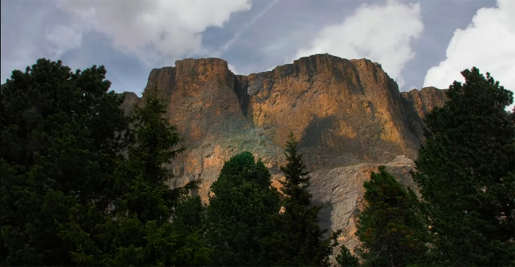 Come in un sogno, le Dolomiti in video