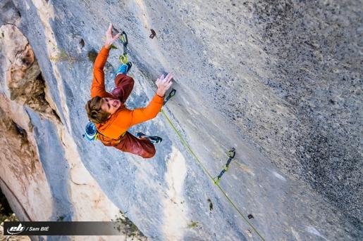 Uncut: Seb Bouin climbing Agincourt at Buoux