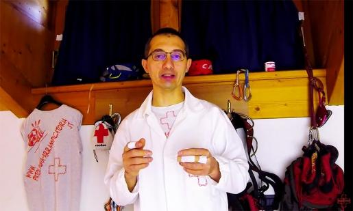 Dottor Kelios Bonetti: la nastratura in arrampicata.