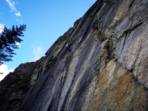 Massimo Bal: Barliard in the Ollomont Valley and the first ascent climbing contest