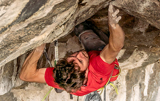 Stefano Ghisolfi repeats Change, world's first 9b+ at Flatanger in Norway