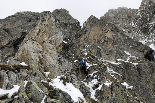 Two New Routes on Mont Vert de Greuvetta in Mont Blanc massif