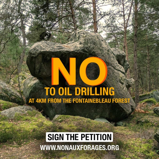 Petition against oil drilling close to Fontainebleau