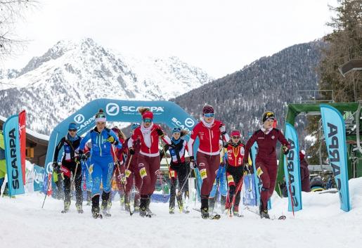 Ski Mountaineering World Cup: Nicolini, Gachet Mollaret, Anselmet and Fatton win in Ponte di Legno