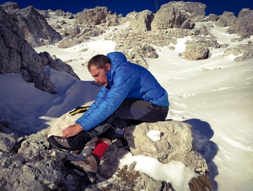 Federico Sordini, fare impresa in montagna