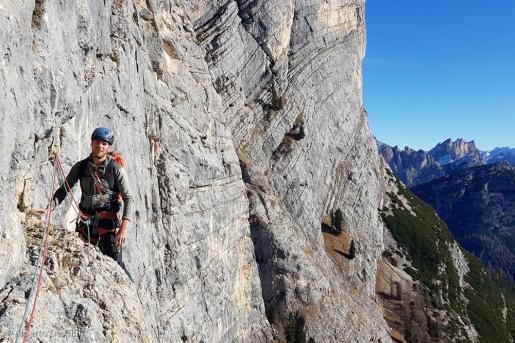 Etienne Bernard, addio al giovane alpinista della Val di Fassa