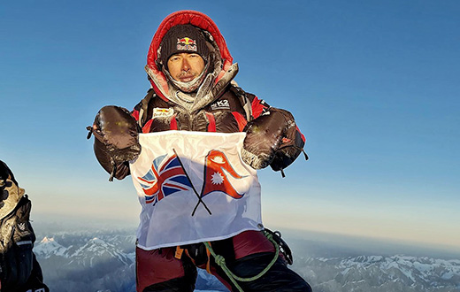 Nirmal Purja climbed K2 in winter without supplementary oxygen