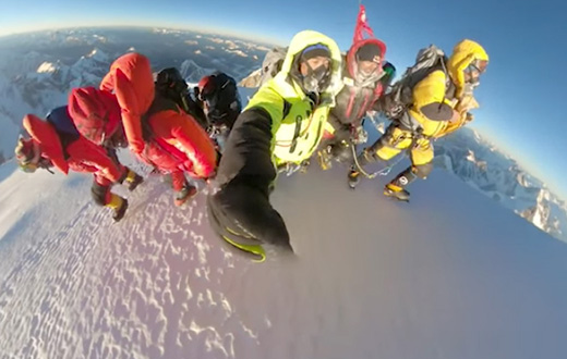 K2 first winter ascent, the video of the historic Nepalese climb vs. global warming