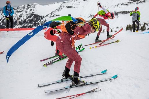 Ski Mountaineering World Cup: Axelle Gachet-Mollaret, Matteo Eydallin, Marianne Fatton, Oriol Cardona Coll triumph in Flaine