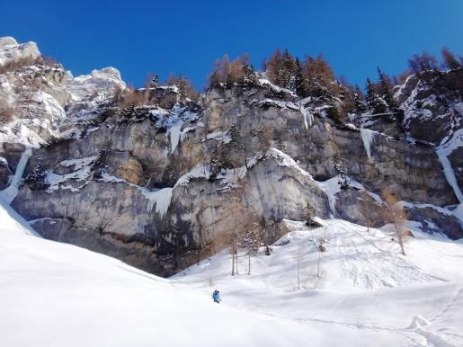 Prima ripetizione de L'Ira di Giò in Val Daone per Matteo Rivadossi e Simone Monecchi