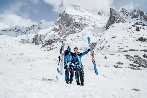 Andrzej Bargiel, Jędrek Baranowski climb Laila Peak
