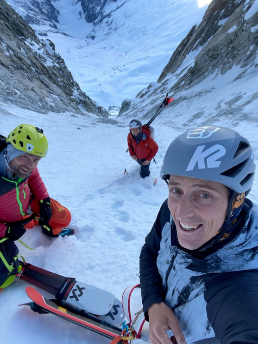 Bietschorn SW Face, first ski descent by Paul Bonhomme, Vivian Bruchez, Gilles Sierro