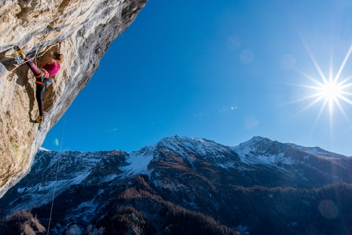 Tiro Leader in Val Sapin above Courmayeur, Italy / Alberto Gnerro & Federica Mingolla interview