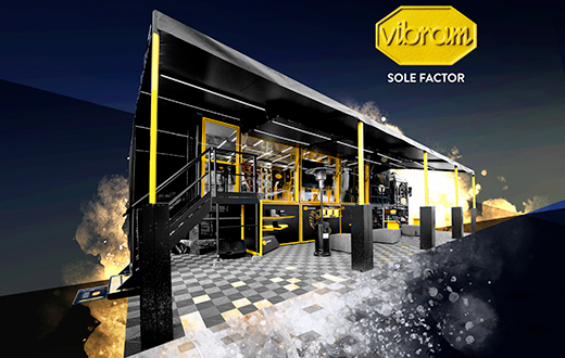 Vibram Sole Factor Mobile Lab and the Vibram XS Eco climbing shoe rubber