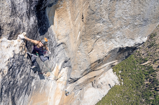 Bronwyn Hodgins repeats Golden Gate on El Capitan in Yosemite