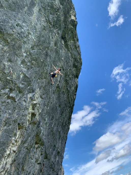 Will Bosi repeats Northern Lights, classic 9a at Kilnsey