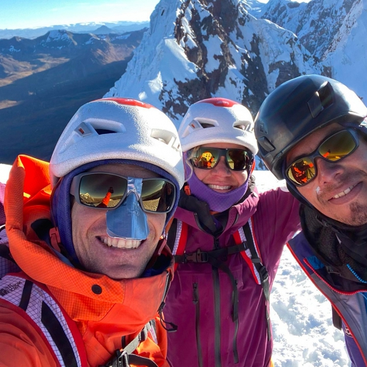 Concha de Caracol South Face new route in Peru by Anna Pfaff, Andres Marin, Alex Torres