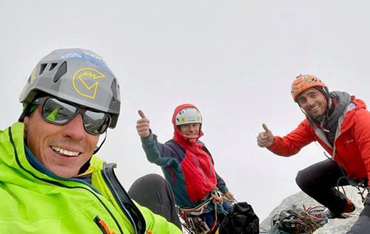 New Matterhorn South Face route by François Cazzanelli, Marco Farina, Francesco Ratti