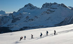 Racchette da neve in Dolomiti