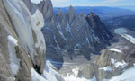 Cerro Standhardt El Caracol, new route in Patagonia by Colin Haley and Jorge Ackerman