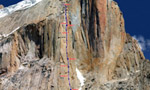 Great Trango Tower, new Ukrainian - Russian route in the Karakorum