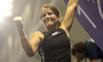 Anna Stöhr and Dimitry Sharafutdinov win third round of the Bouldering World Cup 2008 in Grindelwald