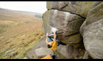 Chris Webb Parsons climbing training in England
