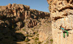 Kazikli Canyon, a sport climbing paradise in the Aladaglar, Turkey