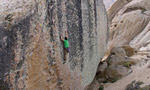 Alex Honnold, new super highball at Bishop