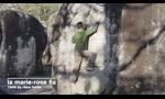 Adam Ondra bouldering in Fontainebleau