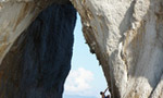 Capri Deep Water Solo, new route Tramonti on the Faraglioni